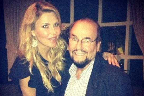 This is a pairing we really, really appreciate! Brandi Glanville and James Lipton, BFFs
