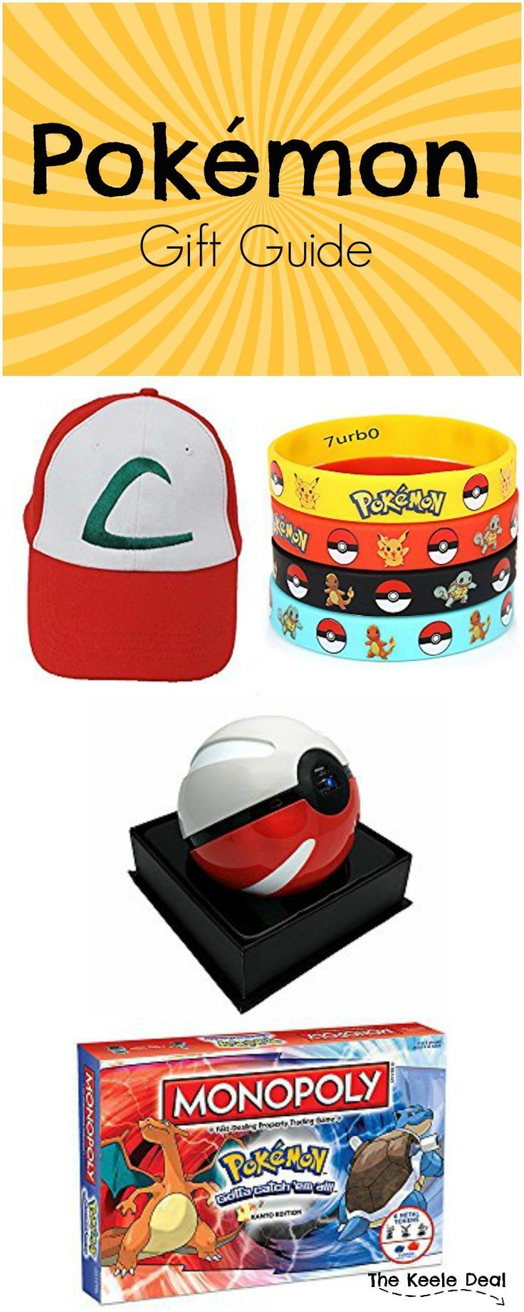 """With the popularity of Pokémon not only reaching kids and teens but also spanning to adults, I'm sure there is a Pokémon lover in your life that """"needs"""" one of these gifts. #21 is my favorite, which one do you like best? thekeeledeal.com"""