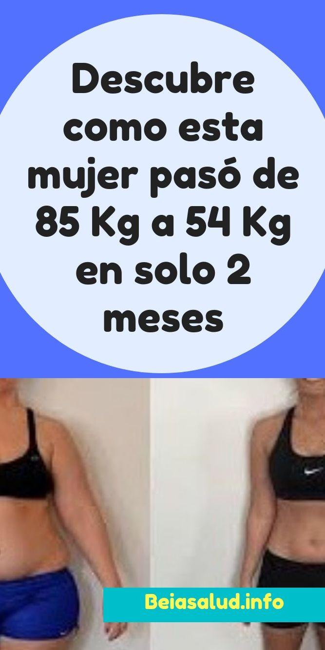 adelgazar 40 kilos en 2 meses