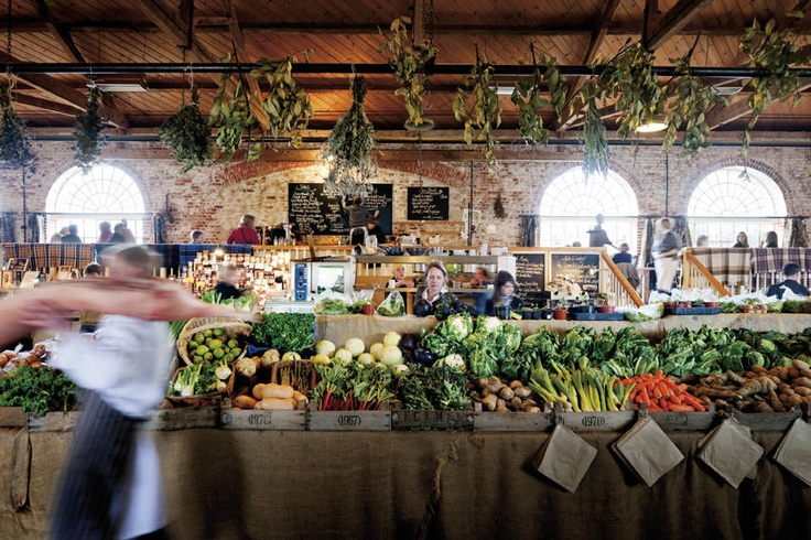 The Village at Little River {italian restaurant & grocery inspiration}