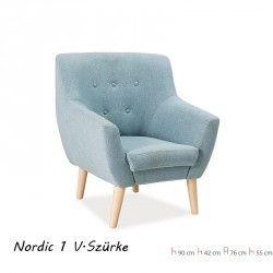 Nordic 1 személyes kanapé - fotel Világos szürke Székek Fotelek és puffok Signal