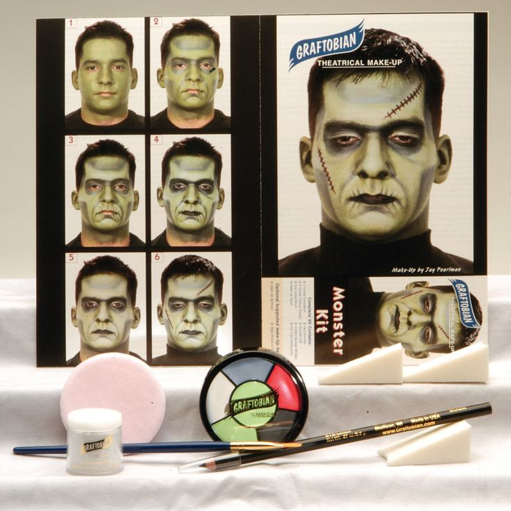 Frankenstein Moster Makeup Kit                                                                                                                                                                                 More