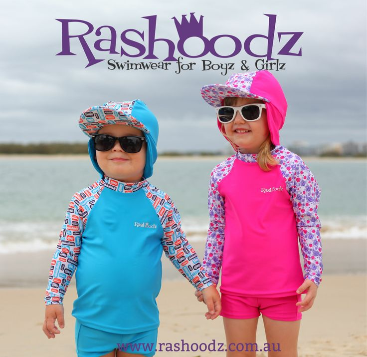 Look at these little cuties in their cool shades! Rashoodz Swimwear for Boyz and Girlz has just released Polar White Shadez for this summer! These shades provide UV protection & are 50% off the price of most other toddler sunglasses. Your little one won't only look super cool but their eyes will be protected against the big, bright Australian sun! www.rashoodz.com.au