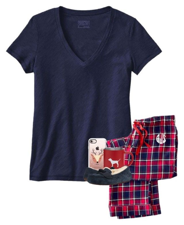 """""""OOTD - Merry Christmas!!! """" by your-daily-prep ❤ liked on Polyvore featuring Patagonia, Mark & Graham, Casetify and UGG"""