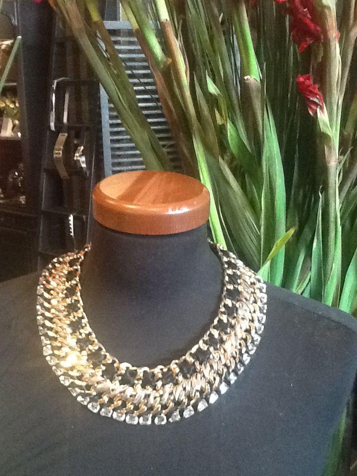 New instore statement neckpiece