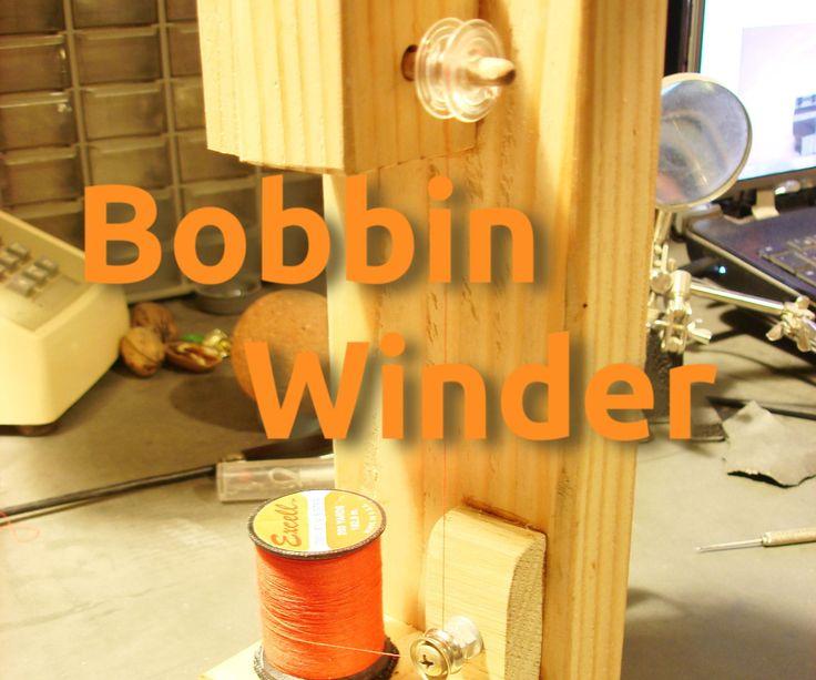 Recycled Bobbin Winder