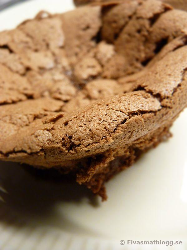 Recept På Chokladkaka - Cloud Cake - Kladdig Chokladkaka - Choklad Dessert