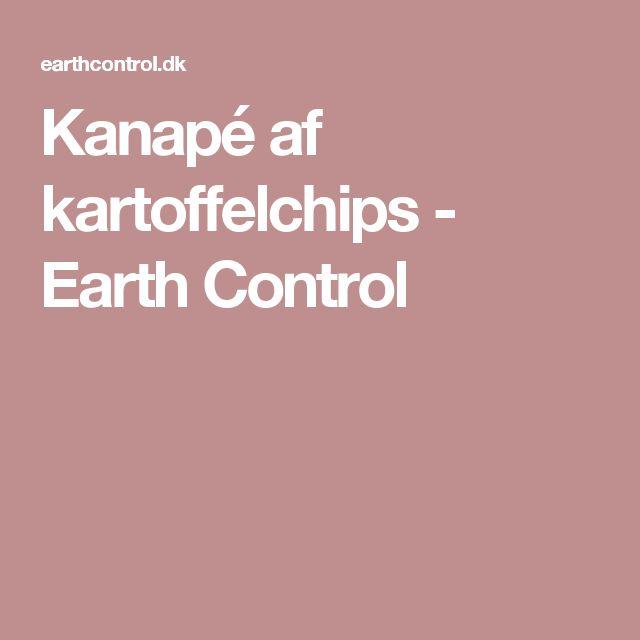 Kanapé af kartoffelchips - Earth Control