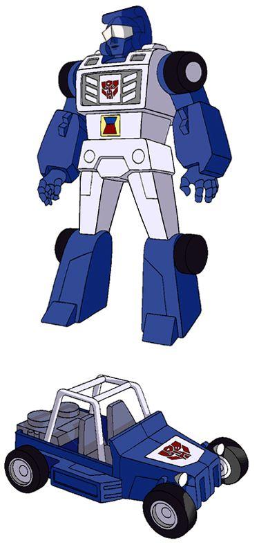 Transformers Generation 1 Cartoon Characters : Beachcomber Шизлонг Прочісувач transformers kiev ua