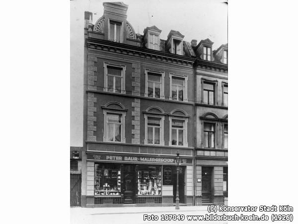 PeterBaurMalergeschäft, Goltsteinstr. 62, 50968 Köln - Bayenthal (1926)