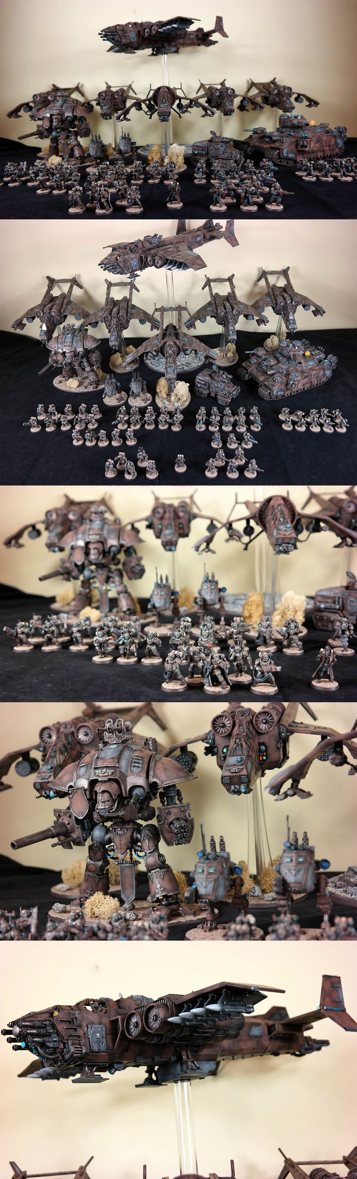 Current Army Picture - Astra Militarum, Militarum Tempestus Scions, Elysian Drop Troops: Air Cavalry || Regiment: Lions of Leander VI || Warhammer 40k