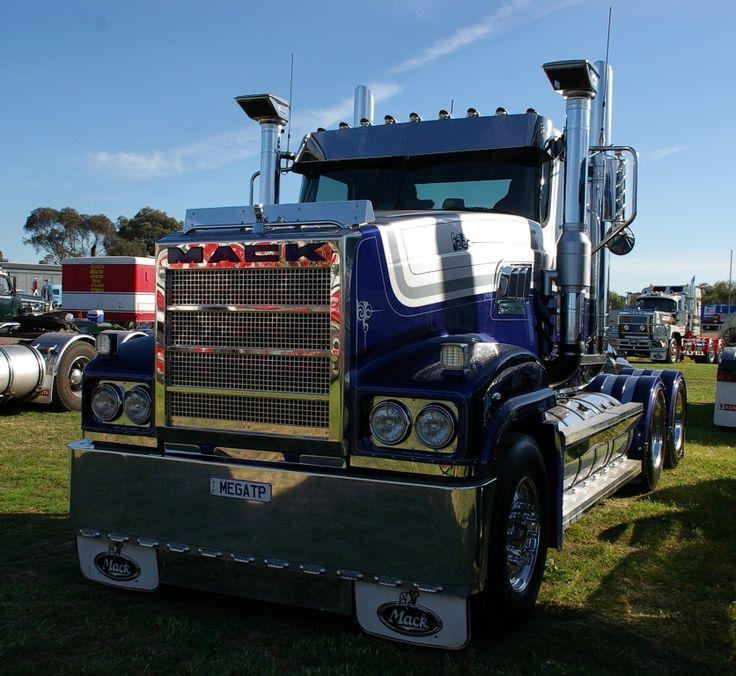 Mack Titan Day Cab Prime Mover In 2020 Mack Trucks Road Train Cab