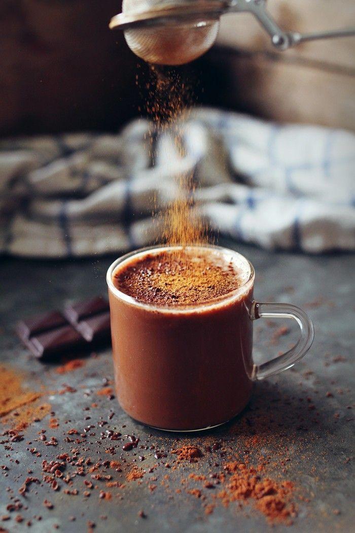 Varm Choklad med Havremjölk och Kanel / Hot Chocolate with Oatmilk and Cinnamon