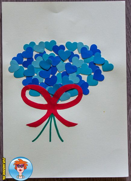 20 beste idee n over harten knutselen op pinterest for Gekleurd papier action