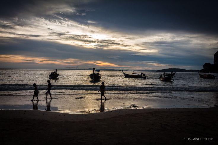 Podróż po zachód słońca - do Railay, Krabi, Tajlandia / Travel to Thailand to see such amazing sunset