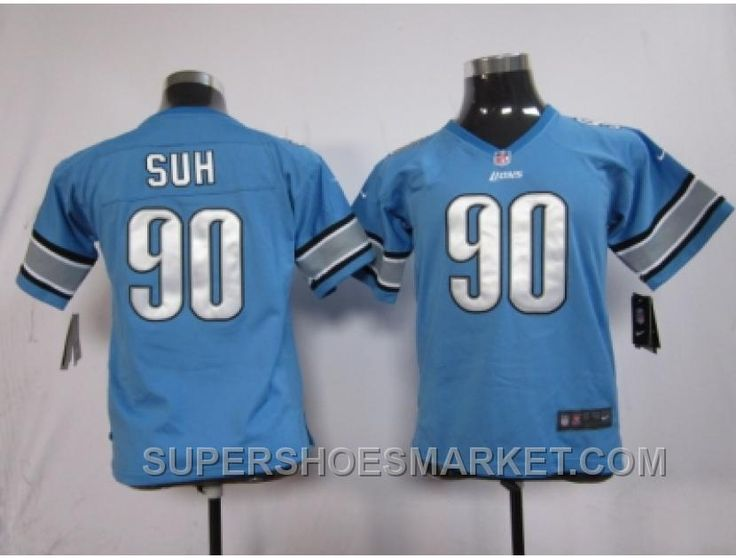 http://www.supershoesmarket.com/nike-youth-nfl-jersey-detroit-lions-90-ndamukong-suh-blue-best.html NIKE YOUTH NFL JERSEY DETROIT LIONS #90 NDAMUKONG SUH BLUE BEST Only $23.65 , Free Shipping!