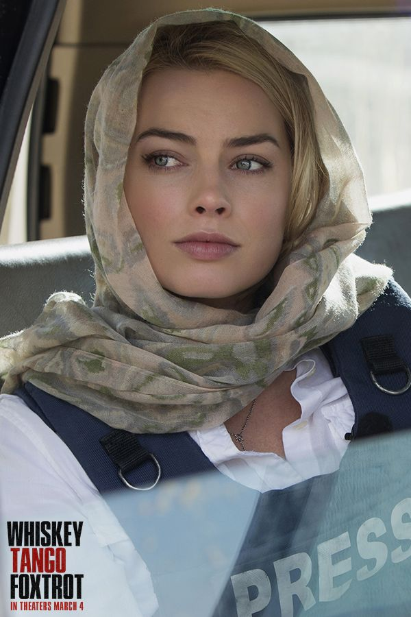 Margot Robbie in Whiskey Tango Foxtrot | In theatres March 4, 2016