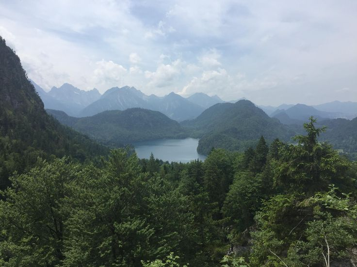 Hiking near Neushwanstein castle southeast of Füssen in Bavaria Germany. #hiking #camping #outdoors #nature #travel #backpacking #adventure #marmot #outdoor #mountains #photography