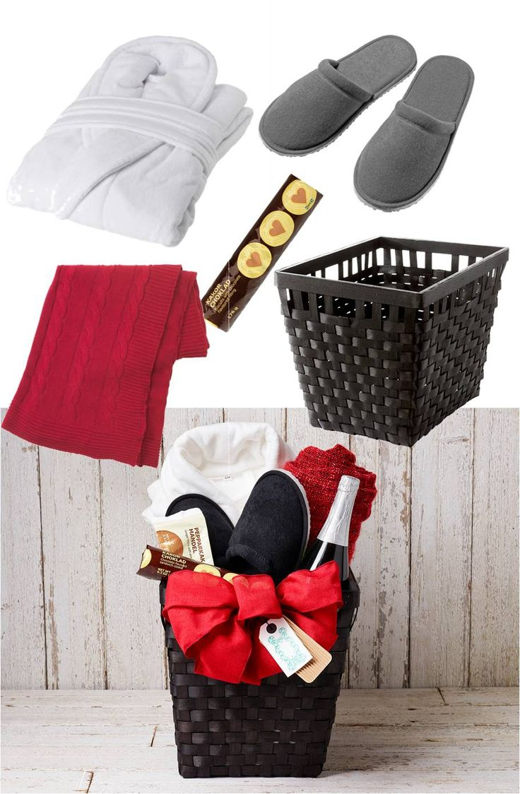 Holiday Gift Baskets Made Easy by IKEA - Start by picking a theme, like this pampering bundle, and add a variety of comforting items to create a complete relaxing experience. All they have to do is enjoy!