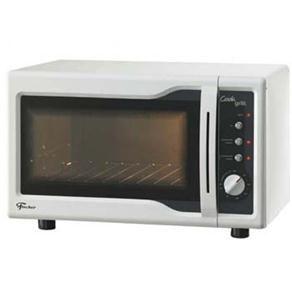 Forno Elétrico Fischer Cook Grill de Bancada 44 Litros - Branco
