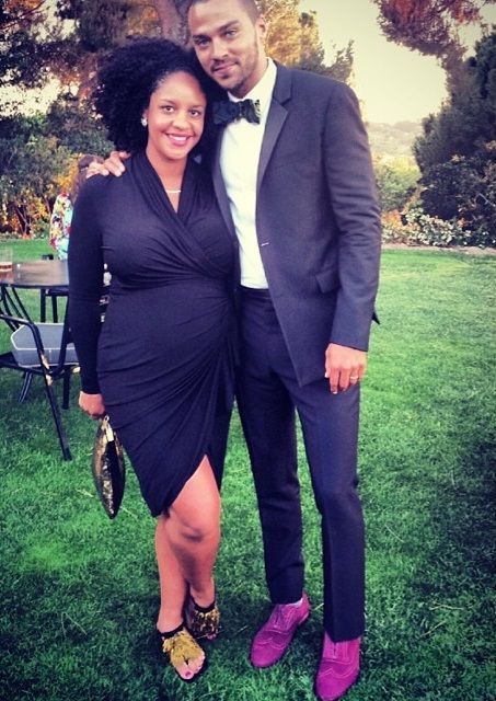 Jesse Williams and his wife Aryn are just lovely.