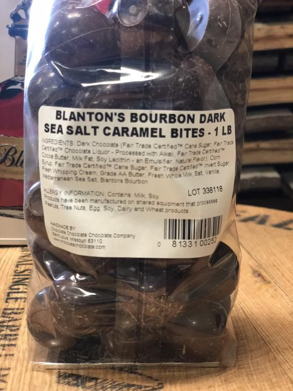 Blanton S Bourbon Caramel Bites With Sea Salt In Collectible Tin