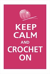 Crocheting keeps me Calm until there is a knot or I run out of Yarn.