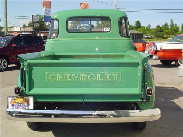 1950 Chevy 12 Ton 3100 5 Window Pick Up Classic Cars