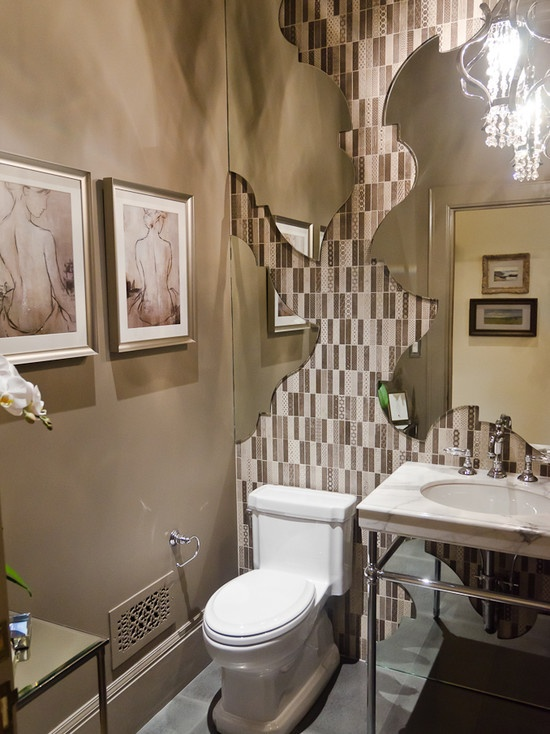 22 Eclectic Ideas Of Bathroom Wall Decor: 326 Best Images About Mirror..Mirror On The Wall On