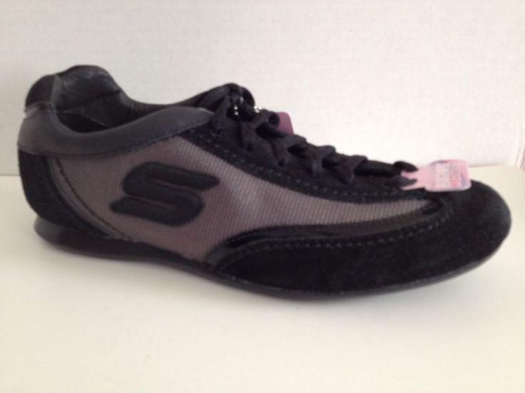Skechers Wedge Fit Shoes Womens Size 6 Black Sneakers 48765   eBay