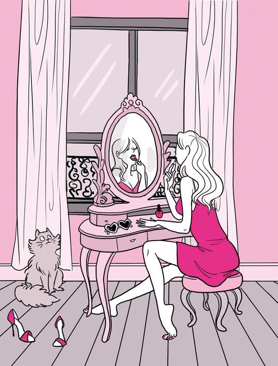 """Marie Bastille News !: Diglee illustre """"Les filles pensent que..."""" de Lucie de Paola, édition Michel Lafon !"""