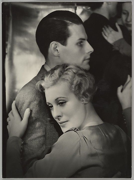 Tanzbar Yva (Else Simon) (German, 1900–1942) Yva worked as a commercial photographer in Berlin specializing in fashion and portrait photography. Here she captures the dreamy narcissism of a dancing couple, for the moment oblivious to the increasingly turbulent world outside the dance hall