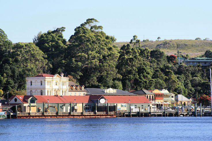 The beautiful town of Strahan,  on Tasmania's West Coast