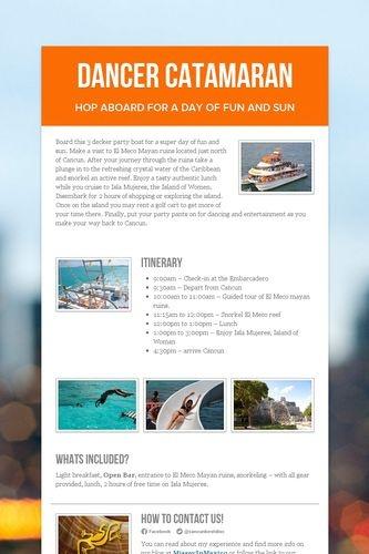Dancer Catamaran #springbreak #partyboat #cancun #mexico #openbar