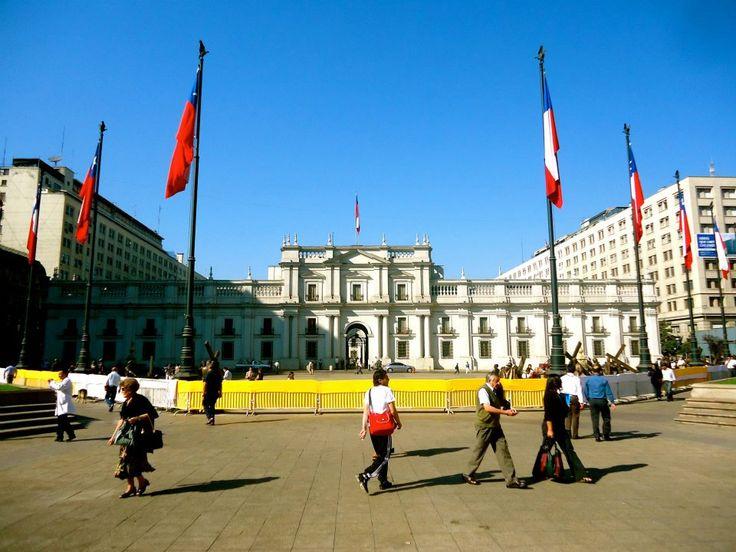Palacio de La Moneda en Santiago de Chile, Metropolitana de Santiago de Chile