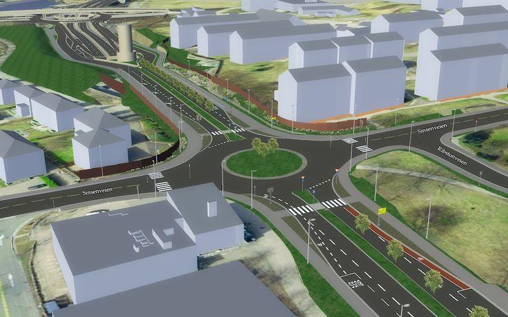Sinsenboeren: Dette er nye Dag Hammarskjølds vei og slik er trafikkprognosene