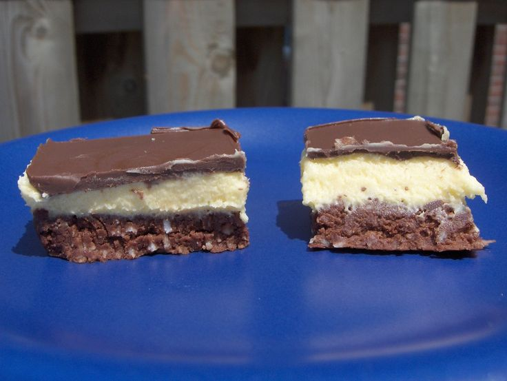 Things We Wish Americans Knew About Us:  Nanaimo Bars - These legendary Canadian no-bake treats originated in (surprise!) Nanaimo, B.C., and are typically made with graham-cracker crumbs, coconut, walnuts, vanilla custard and chocolate. Need we say more? Common variations include peanut butter and mint chocolate.