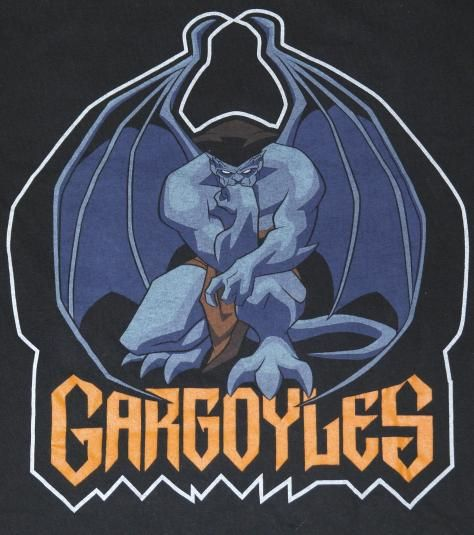 Original Goliath Gargoyles TV show t-shirt. Shirt tag removed, otherwise shirt is in excellent condition.