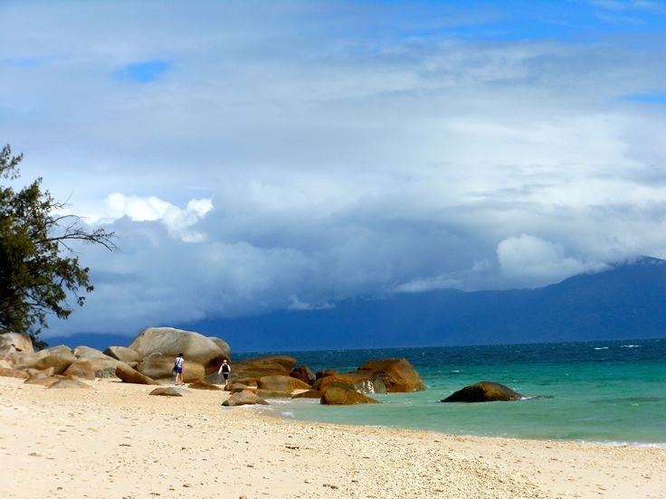 Nudey Beach on a cloudy day