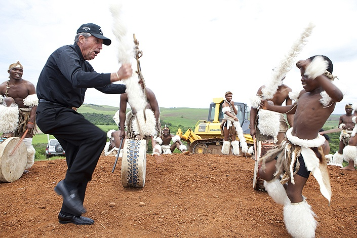 Gary Player Soil Turning Event