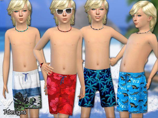 Pinkzombiecupcakes' Boys Summer Shorts