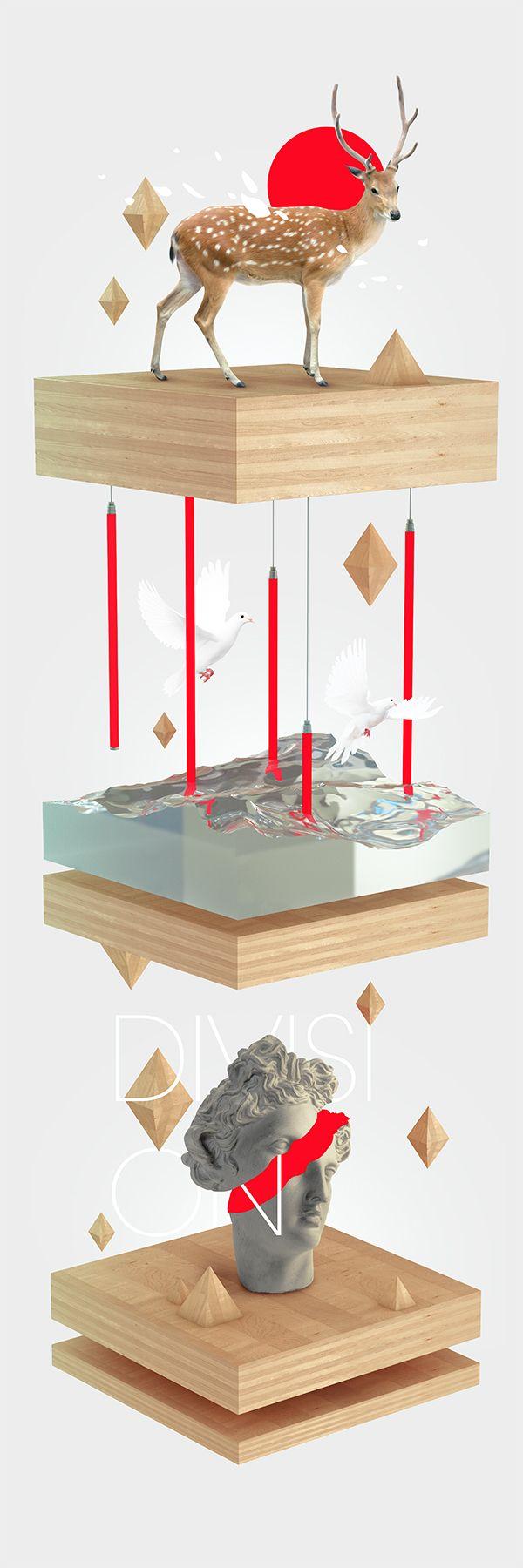Division by Sean Ostashek, via Behance