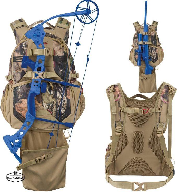 Camo Hunting Backpack Bow Deer Duck For Men Women Archery Hiking Gear Day Pack #deerhuntinggear #archeryhunting