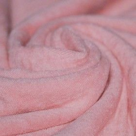 Frottee Stoff Stretch Rosa