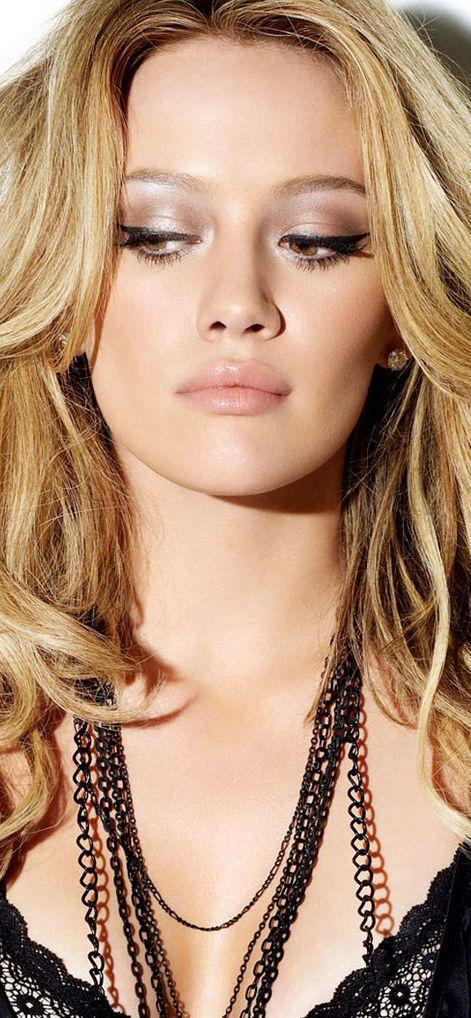 Hillary Duff, love the makeup