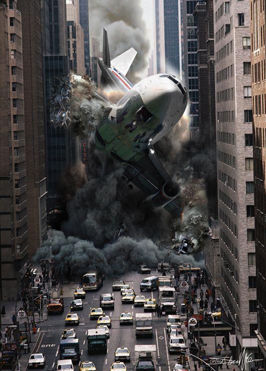 Apocalypse: Digital Illustration by Steve McGhee Explores Catastrophe