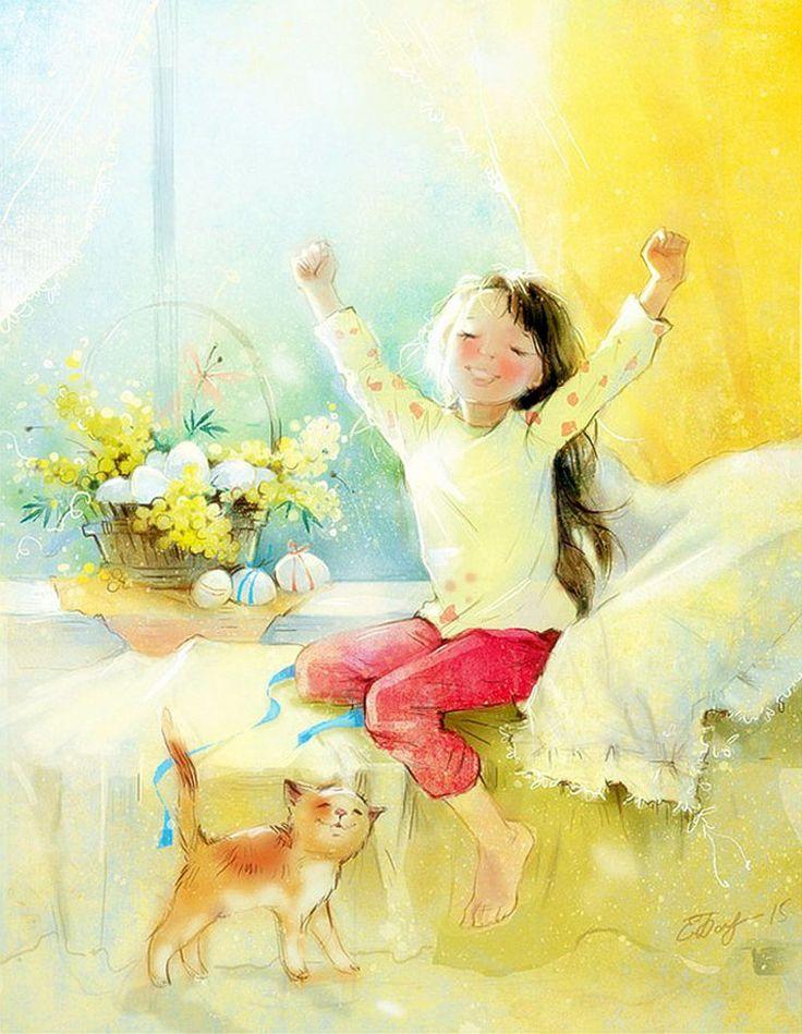 Картинки поздравление, открытка самые лучшие дети на свете