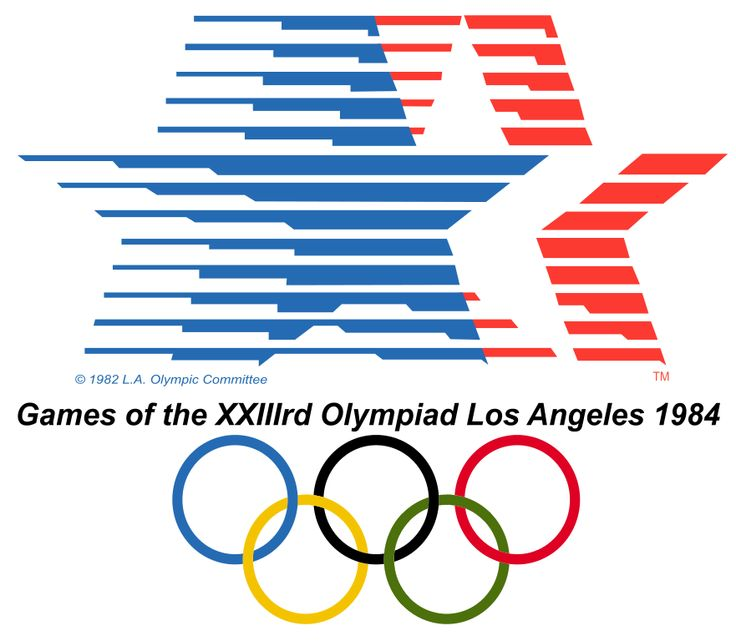 1984 olympics Google Search Olympic logo, 1984