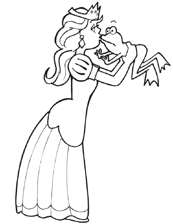 princezna 12  frosch malvorlagen malvorlage prinzessin