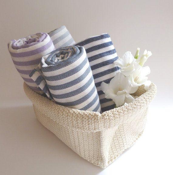 Free Shipment Gift Set of 4 Turkish Towels Cotton by TheAnatolian, $114.00